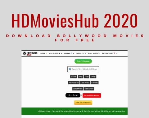 HDmovieshub 2020:Free Download of Bollywood Movies