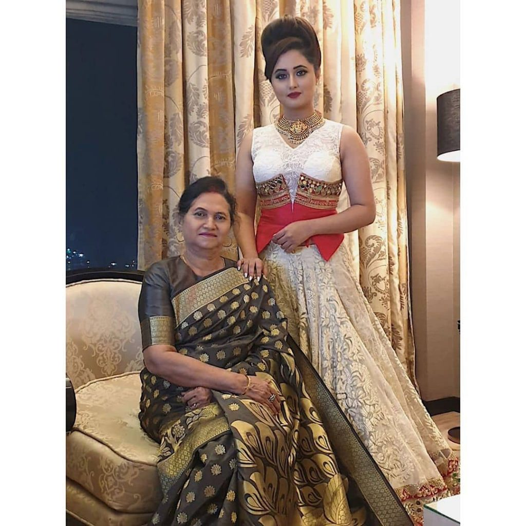 Reshami with Her Mother